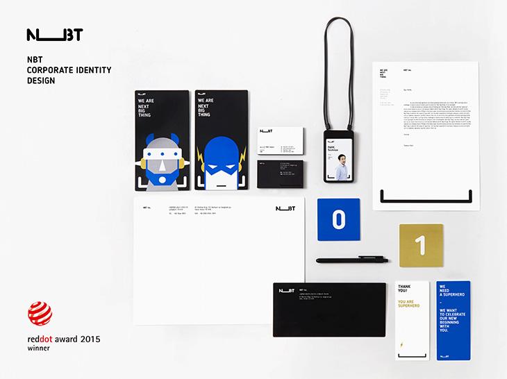 nbt corporate identity design